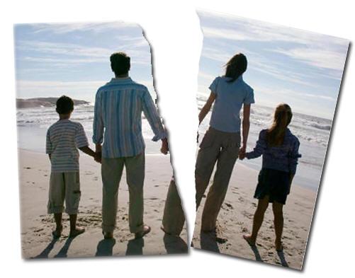 Image result for FAMILLE BRISEE ET LE DIVORCE